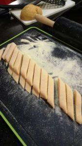 Nudeln aus frischem Teig
