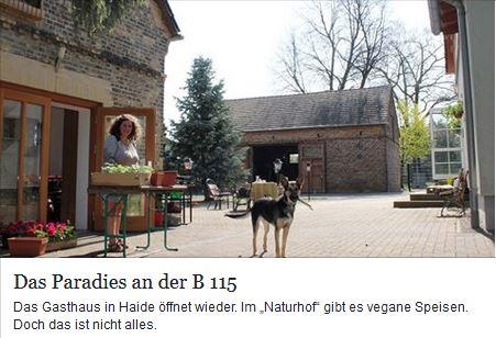 Das Paradies an der B115