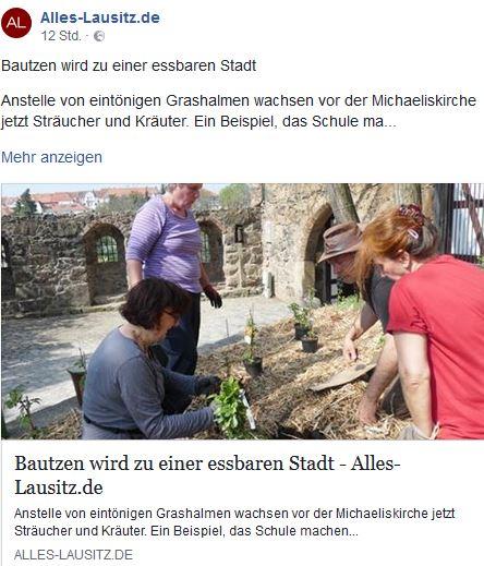Essbare Stadt Bautzen