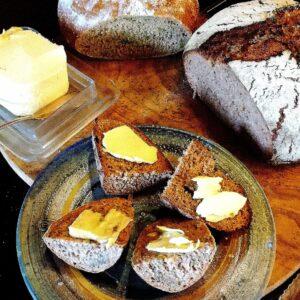Das Einfache ist oft das Beste, Brot und Butter