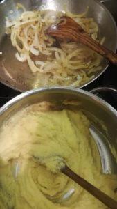 Kartoffelpüree, frisch und sahnig