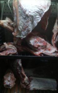 Fleisch muss reifen