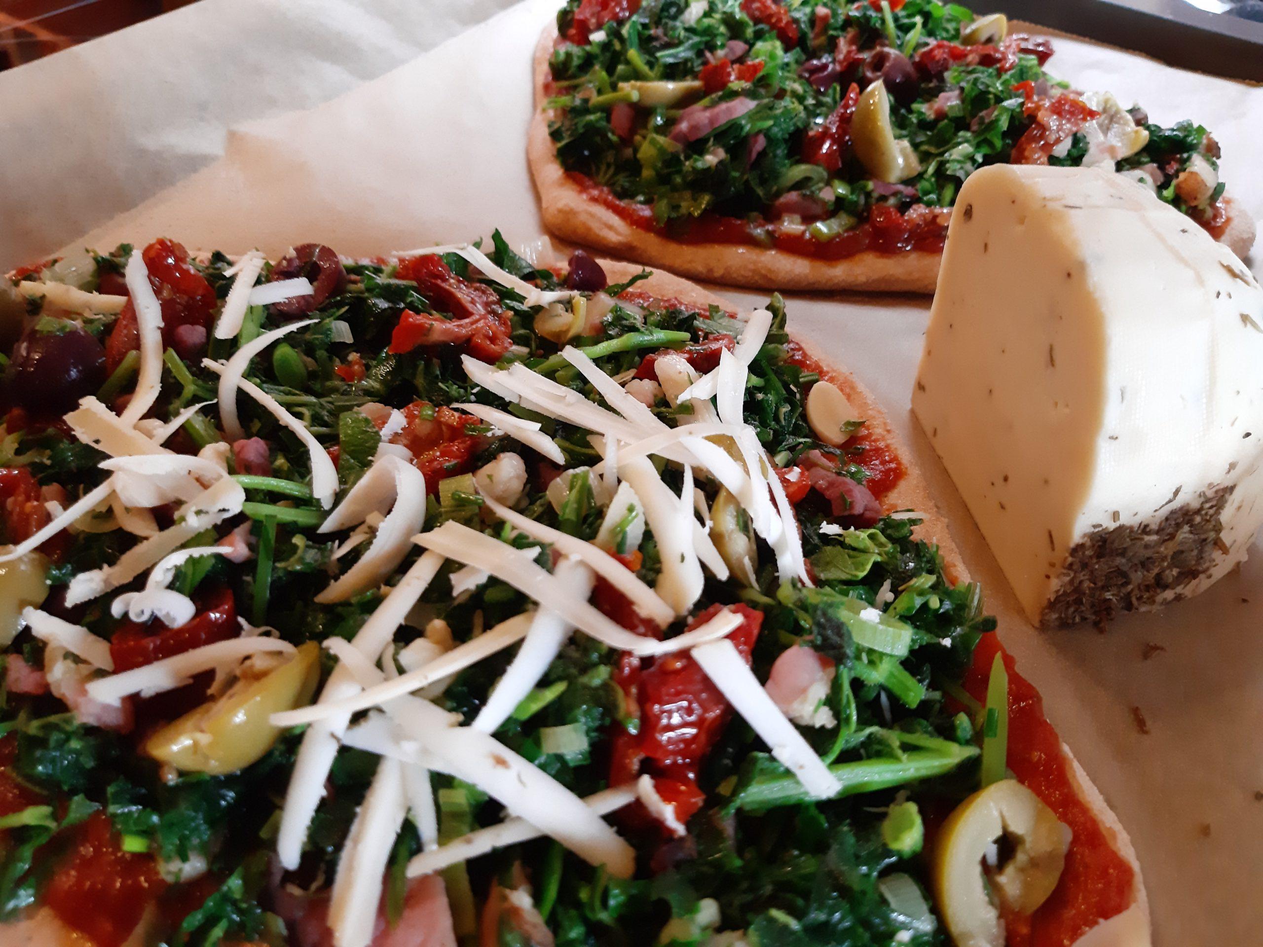 Giersch-Pizza, Ein Rezept für drei Gerichte #1 von 3