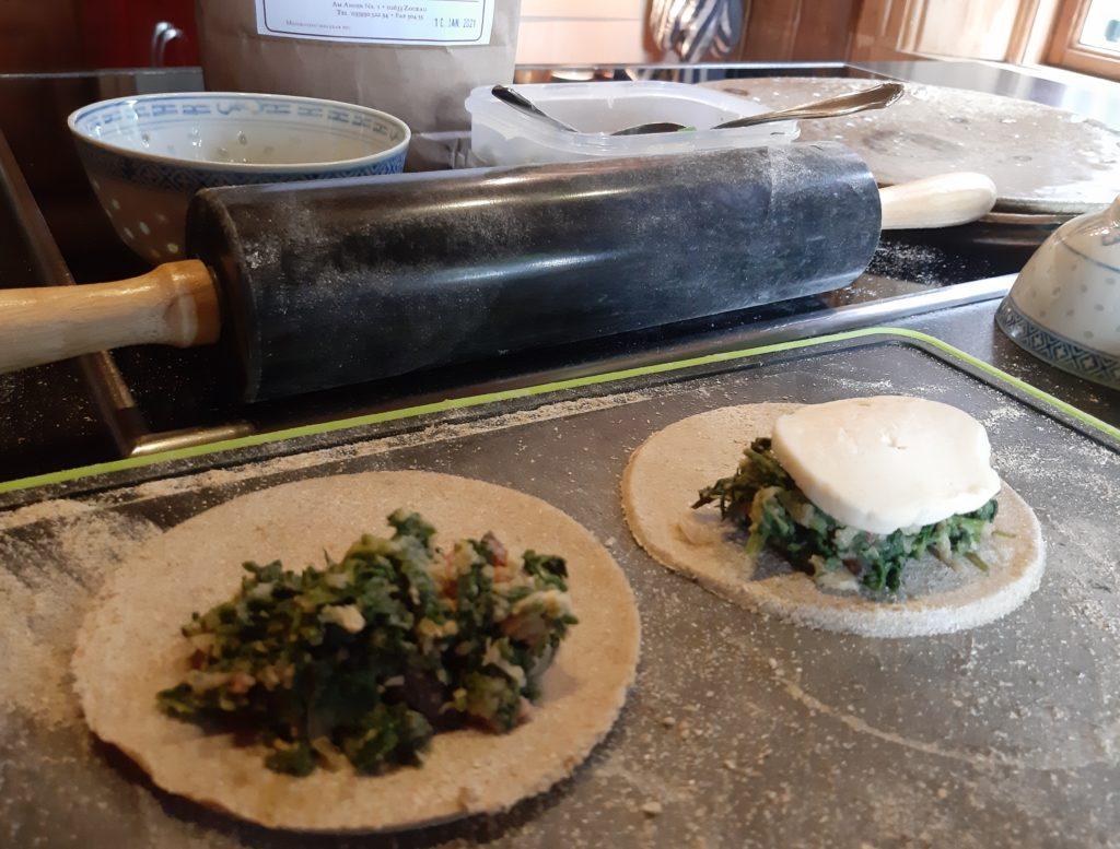 Pastetchen mit Wildkräuterfüllung, #3 von 3