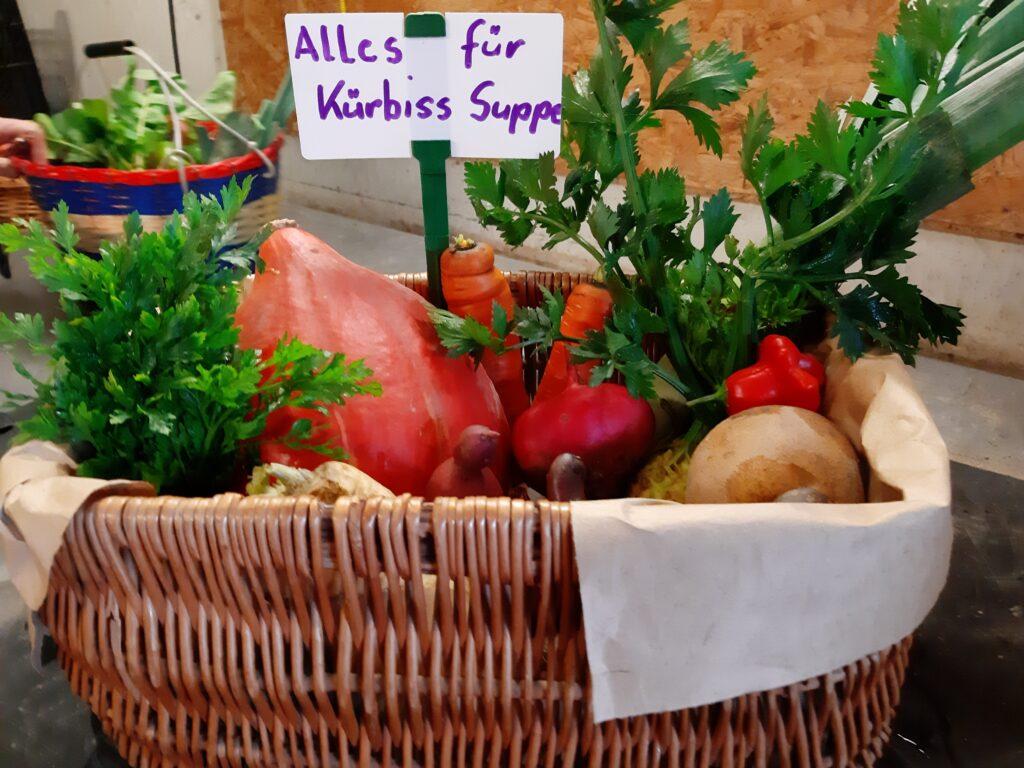 Hokkaido Kürbis-Suppe nach Art der Gärtnerin