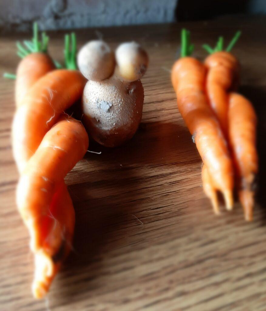 lustiges Gemüse
