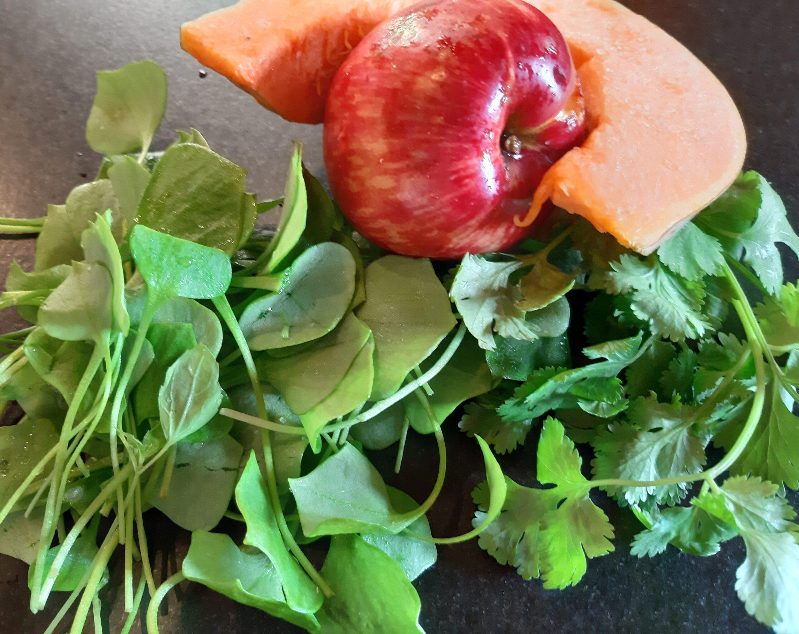 Herbstsalate mit Kürbis und Apfel