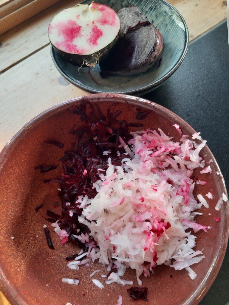 Salat pink & spicy